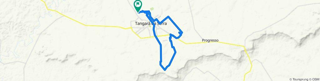 Rota moderada em Tangará da Serra
