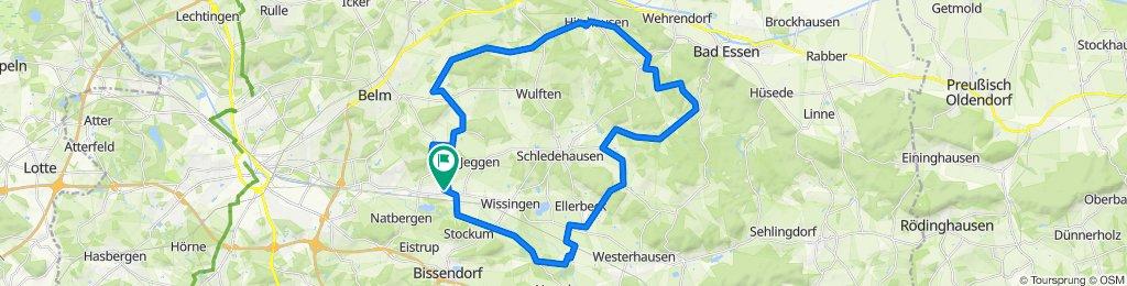 Große Rund im Zentrum Schledehausen
