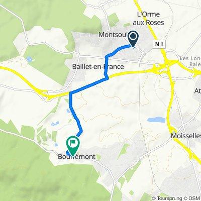 Itinéraire modéré en Bouffémont