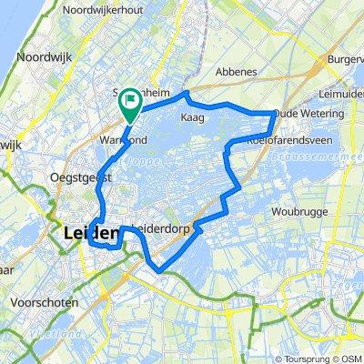Wasbeeklaan 1, Warmond to Wasbeeklaan 1, Warmond