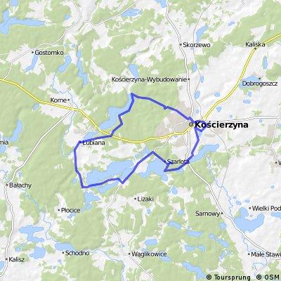 krótka trasa w okolice Kościerzyny