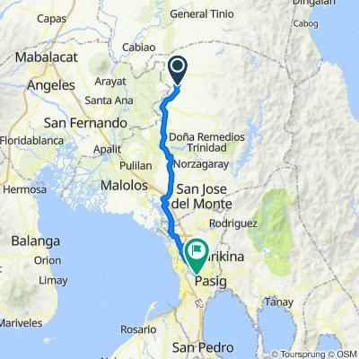 Riverside, San Miguel to Doctor Jose Fabella Road 138, Manila