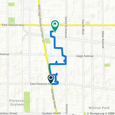 Easy ride in Huntington Park