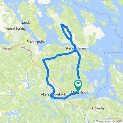 Mariefred - Åsa gravfält - Valsberga