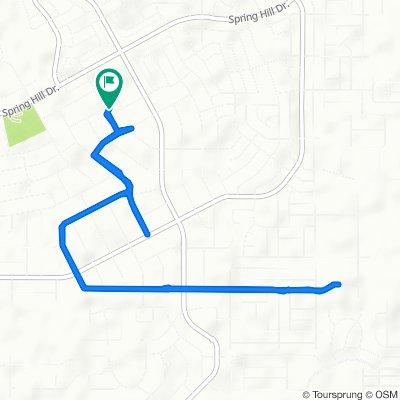 2100 Marble Ave, Spring Hill to 2100 Marble Ave, Spring Hill
