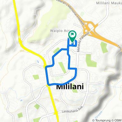 95-101–95-155 Paao Pl, Mililani to 95-101–95-155 Paao Pl, Mililani