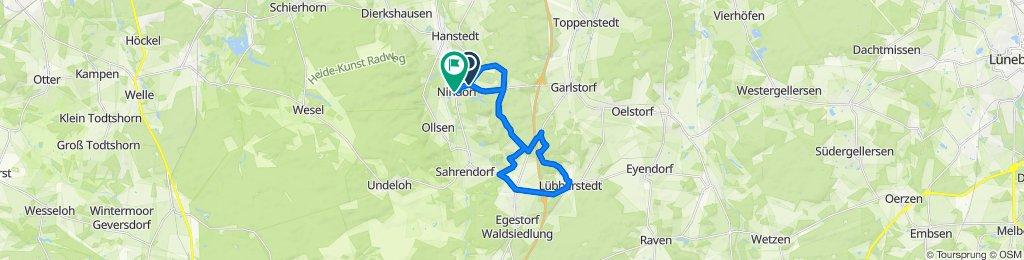 abwechslungsreiche MTB-Route mit Singletrail