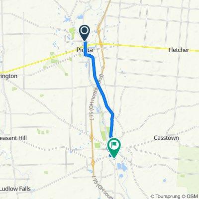 732 N Wayne St, Piqua to 622 S Union St, Troy