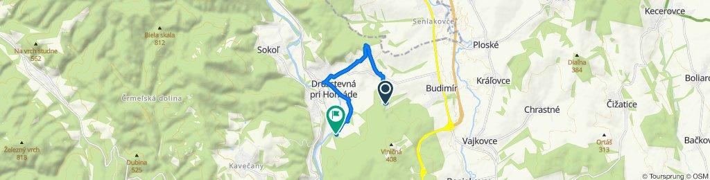 Stredná trasa Družstevná pri Hornáde