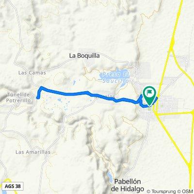 Ruta moderada en Rincón de Romos