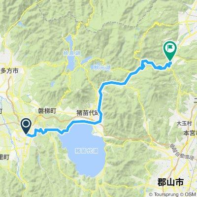 Aizuwakumatsu  - Fukushima