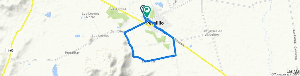 De Serrano, Peralillo a Arturo Prat, Peralillo