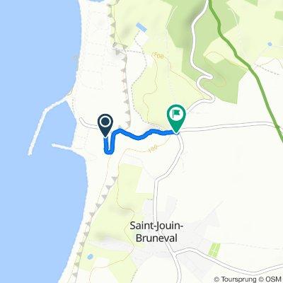 Itinéraire confortable en Saint-Jouin-Bruneval