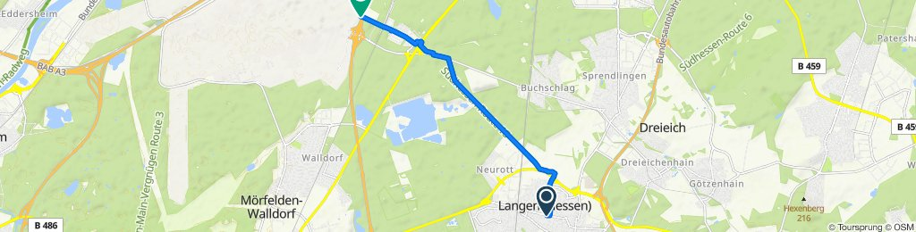 Langen - Flughafen
