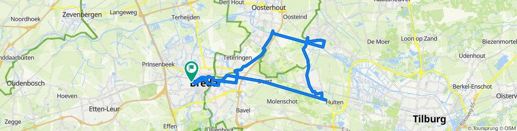 Retourtje Rijen-Dongen-Breda