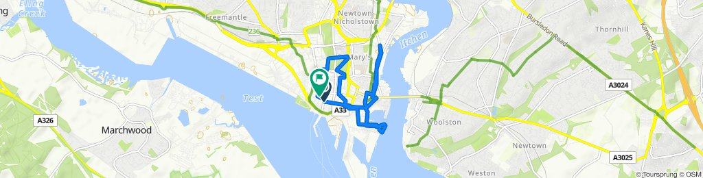 Easy ride in Southampton