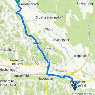 Herrnberg 43 nach Großsteinbach 190