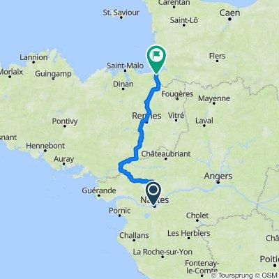 Nantes - Mont Saint Michel