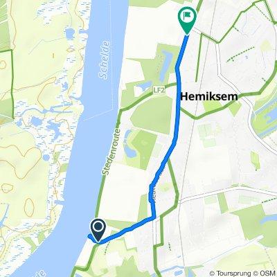 Easy ride in Hemiksem