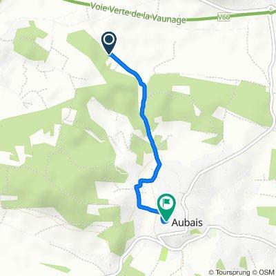 Itinéraire modéré en Aubais