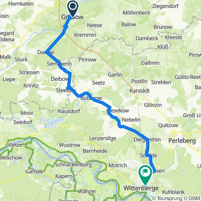 März 2019 - Anradeln 3: Grabow - Wittenberge