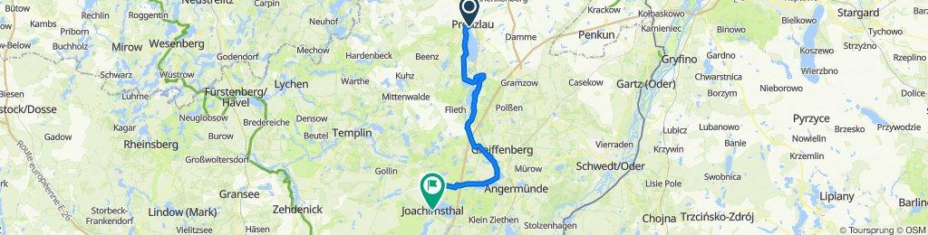 FRW Berlin - Usedom von Nord nach Süd: Prenzlau - Joachimstal