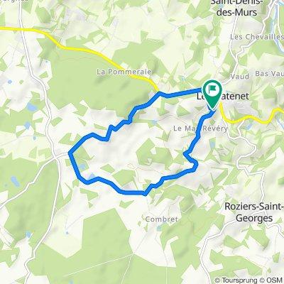 Itinéraire modéré en Saint-Denis-des-Murs