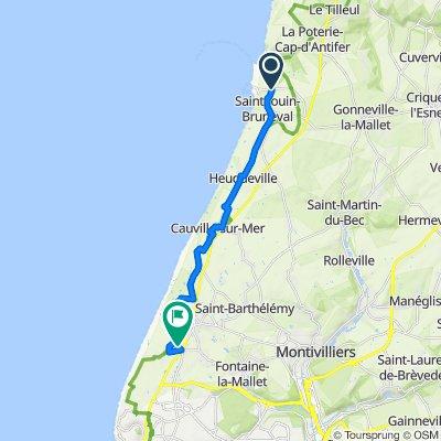 Itinéraire modéré en Octeville-sur-Mer