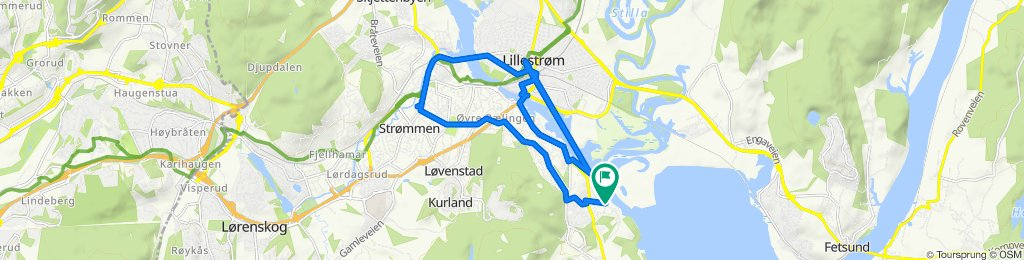 Easy ride in Fjerdingby
