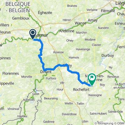 TW-Etape 2 Namur - Marche-En-Famenne