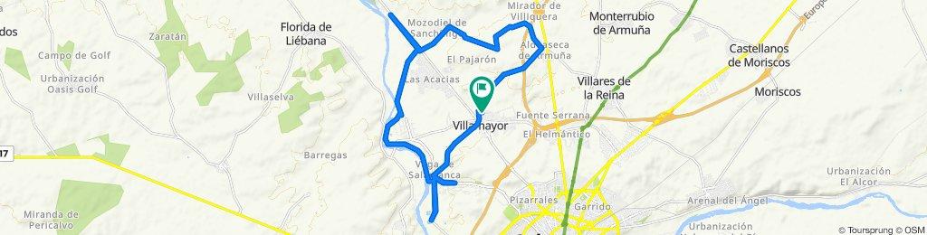 Ruta constante en Villamayor