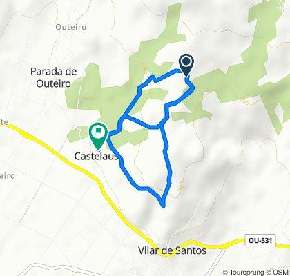 De Unnamed Road, Vilar de Santos a Lugar Castelaus 71