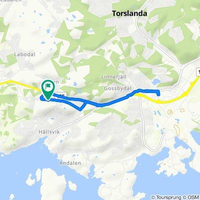 Böttö Fyrs väg 8 to Böttö Fyrs väg 7