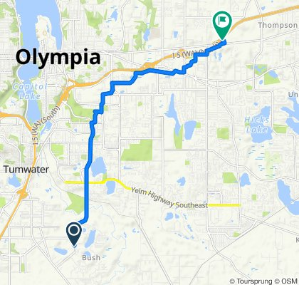 Henderson Boulevard Southeast 7201, Olympia to Martin Way Park & Ride, Lacey