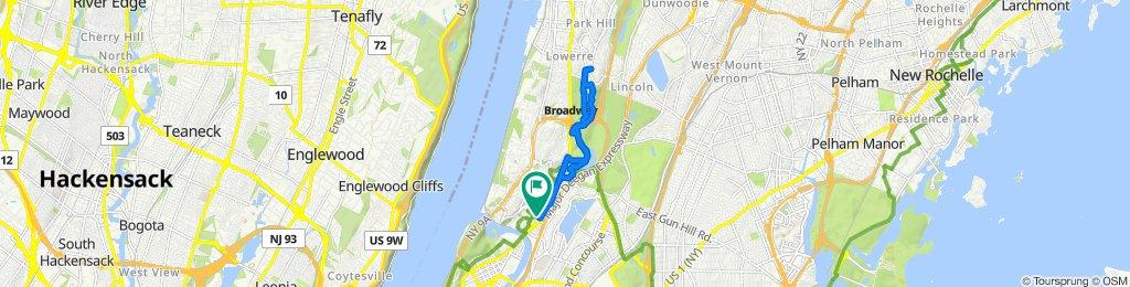 3030 Godwin Terr, New York to 3030 Godwin Terr, New York