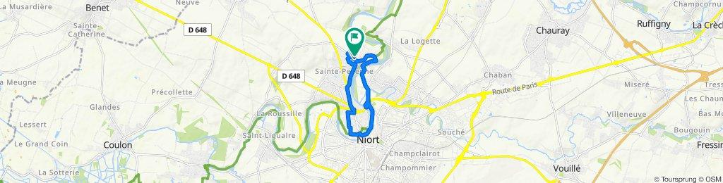 Route stable en Niort