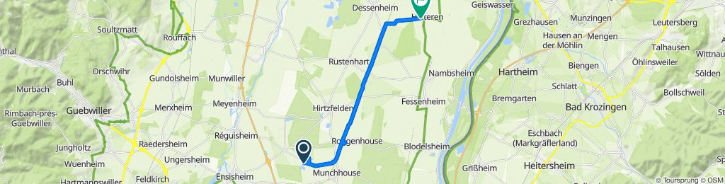 Entspannende Route in Heiteren