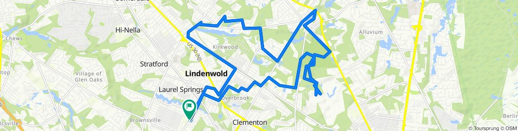 21 Timber Ridge, Lindenwold to 101 Fourth Ave, Lindenwold