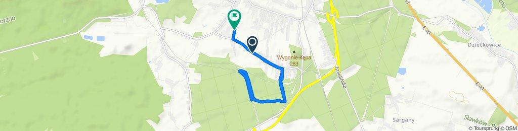 Łatwa trasa w Mysłowice