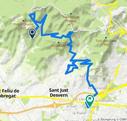 Ruta constante en Sant Feliu de Llobregat 19/05/20