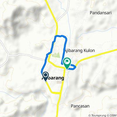 Jalan Lingkar Ajibarang, Kecamatan Ajibarang to Ajibarang, Kecamatan Ajibarang