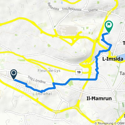 Relaxed route in Gzira