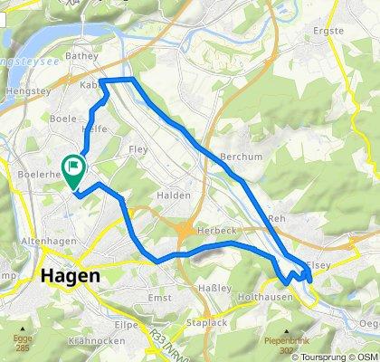 K1 137, Hagen nach K1 137, Hagen