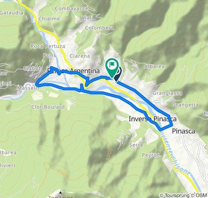 Da Via Sestriere 47, Castelnuovo - Combalere a Via Iº Maggio 19, Castelnuovo - Combalere