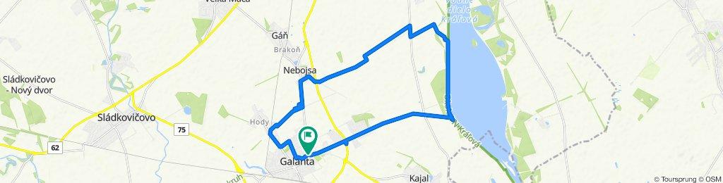 Stredná trasa Galanta