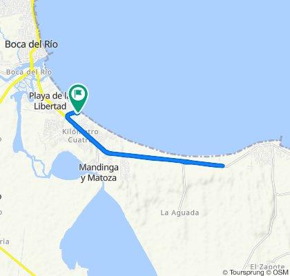 Paseo intenso en Alvarado