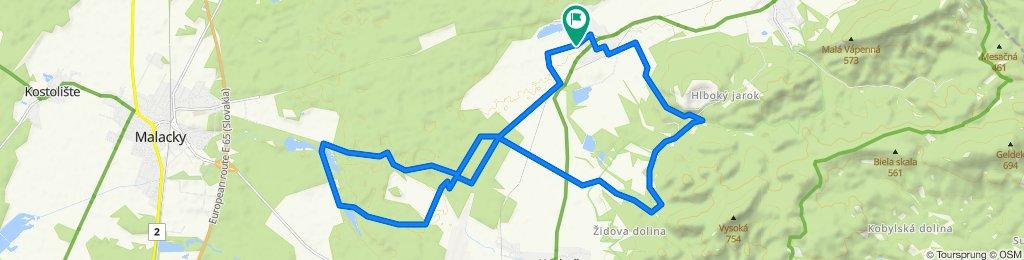 Restful route in Rohožník
