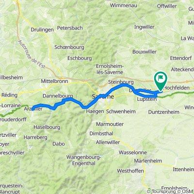 Hochfelden Radfahren