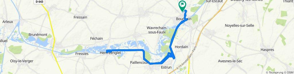 Itinéraire modéré en Bouchain