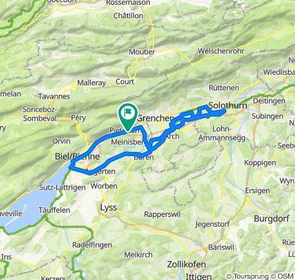 Pieterlen-Büren-Solothurn-Nidau-Pieterlen